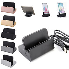 Charging Dock Charger Sync Cradle Station Micro USB Cable For Android Phone Sony
