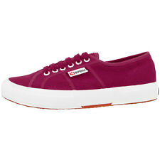 SUPERGA 2750 COTU CLASSIC SHOES CERISE S000010-X6R SPORTS CASUAL SHOES TRAINERS
