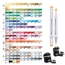 160 Colors Art Animation Design Markers Set Sketch Double Ended Marker Pens