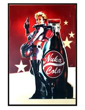 Fallout 4 Gloss Black Framed Nuka Cola Poster Maxi Poster 61x91.5cm
