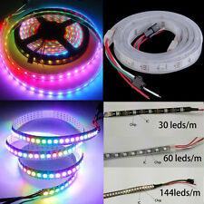 5M 150 300 Leds 144 60LED/M Digital Strip WS2812B IC RGB Built-in Addressable 5V