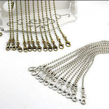 48 ~ 118 CM Bead Metal Chain for Handbag or Shoulder strap bag purse or Sewing