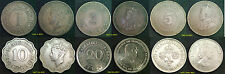 MAURITIUS COINS 1 Cent to Quarter Rupee Choice of coins Supplied in Coin Wallet