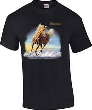 Cowboy Cowgirl Beautiful Palomino Horse T-Shirt