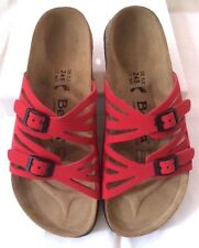New Betula by Birkenstock Grace Nubuck Leather Sandals Assorted Colors & Sizes