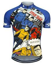 Star Trek Galaxy Pop Cycling Jersey Men's Brainstorm Gear bike bicycle with Sox