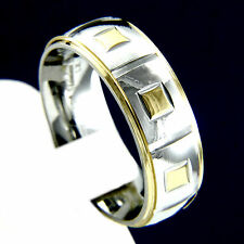 New Stainless Steel Mens Engagement Wedding Anniversary Band Ring