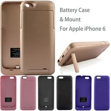 3200mAh External Backup Battery Case Clip Power Bank Charger Stand for iPhone 6