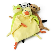 Plush Cloth Comfort Blanket Cuddly Blanket Panda Duck Bear Frog Baby Small Child