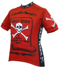 Jolly Roger Pirate Cycling Jersey World Jerseys Men's with DeFeet Socks bike new