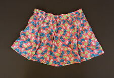 NWT Abercrombie A&F Floral Pleated Mini Skirt S L Dress Pink NEW
