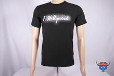 HOLLYWOOD COCAINE party cut up lines American Apparel black 2001 t-shirt S XL