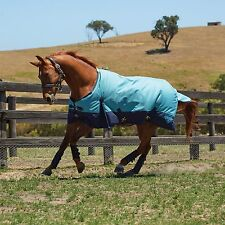Weatherbeeta 1200D Waterproof Winter Horse Blanket Turnout Midwt Blue 76 78 80