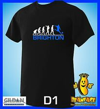 BRIGHTON  evolution  sports football funny MENS T SHIRT small to 5XL D1