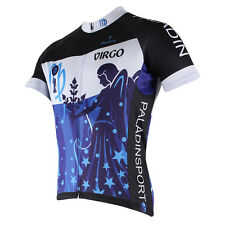 Virgo Men Short Sleeve Bike Cycling Jersey Sport Apparel Bicycle Rider D260