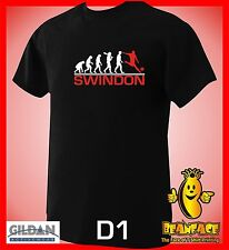 SWINDON  evolution sports football funny MENS T SHIRT small to 5XL D1