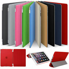 Luxury Magnetic Leather Wallet Smart Flip Case Cover For Apple iPad Model