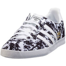 adidas Originals Gazelle OG S78882 Womens Print Trainers White Black New Shoes