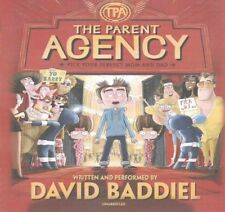 The Parent Agency by David Baddiel Compact Disc Book (English)