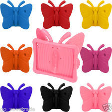 For iPad 2 3 4 3D Cute Butterfly Shockproof Foam Stand Lightweight Case Cover