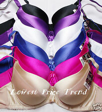Pack of 6 pcs Push-Up Bras Lot,Underwire Padded 36DD 38DD 40DD New BR9072PDD