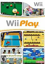 Wii Play (Nintendo Wii, 2007) Case & Instructions Included