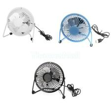 "1pc Mini USB Fan Desktop Cooling Desk Computer Laptop PC Quiet Mute Fan 4"" Gift"