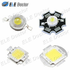 1W 3W 5W 10W 20W 30W 50W 100W High Power White Warm White LED Beads Lamp Chip