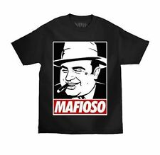Mafioso Scarface Al Capone Mafia Mob Boss Gangster Urban Tattoo T Shirt S-4Xl