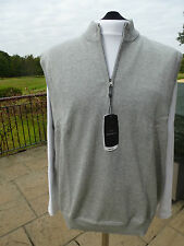 MENS GREG NORMAN COLLECTION SLEEVELESS LINED SWEATER SMALL