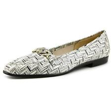 Amalfi By Rangoni Oste Women N/S Pointed Toe Leather White Loafer