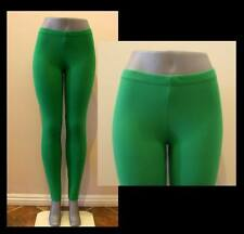 KELLY GREEN PANT LEGGINGS STRETCH WORKOUT HALLOWEEN S, M, L, XL, 2X, 3X PLUS