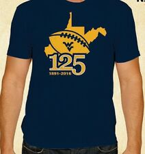 West Virginia Mountaineers 125 Years of Mountaineer Football 2016 Schedule Shirt