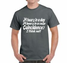 Mens Funny Novelty Sayings Slogans tshirts & Tops-24 Hours In A Day T Shirt