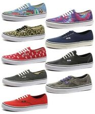 Vans Authentic Unisex Plimsolls / Trainers ALL SIZES AND COLOURS