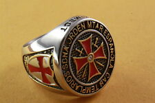 KNIGHTS TEMPLAR CROSS RING CREST /135