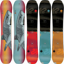 K2 WWW World Wide Weapon Men's Rocker Snowboards Freestyle Jib Boards 2016 NEW