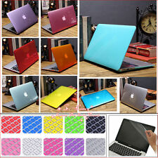 """3in1 Crystal Hard Case+KB Cover+LCD Film for MacBook 12""""/ Air Pro 11.6"""" 13"""" 15"""""""