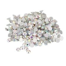 1400pcs Glass Crystal Round Flat Back Rhinestones Gems Acrylic DIY Jewelry