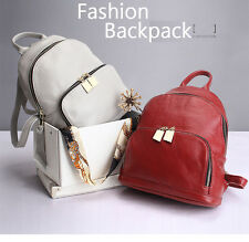 Ladies Genuine Leather Backpack for Women School Bag for College Girl Travel Bag