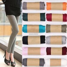 Women Ladies Stretchy Skinny Cotton High Waist Leggings Pants Slim Trousers N98B
