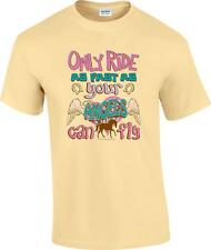 Christian Only Ride As Fast As Your Angels Can Fly Horse Cowgirl T-Shirt