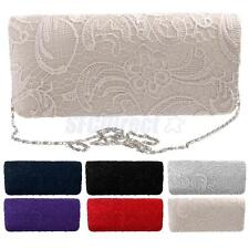 Girls Evening Party/Wedding/Prom/Cocktail Party Clutch Bag Chain Purse Handbag
