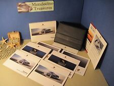 2012 PORSCHE CAYENNE S TURBO OWNERS MANUAL NAVIGATION MANUAL & CASE FREE US SHIP