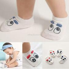 Newborn Toddler Baby Lovely Big Eyes Pattern Socks Soft Boys Girls Cotton Socks