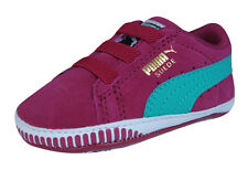 Puma Suede Crib Infant / Baby Girls First Walker Sneakers / Shoes - Cerise