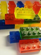 Block Birthday Party Favors Scented Soaps Boys Lego Inspired Pack of 25 Building