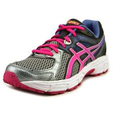 Asics Gel-Contend 2 GS Youth  Round Toe Synthetic Gray Running Shoe