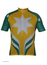 Barbedo Australia National colors cycling Jersey UV Protection tech dry new