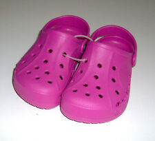 NEW Crocs big girls pink slip-on sandals clogs shoes sz 3 youth